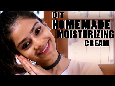DIY Homemade Moisturizing Cream | Make Moisturizing Cream At Home | Skincare Tutorial | Foxy Makeup