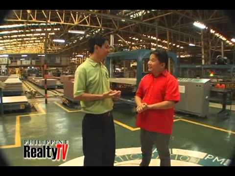 PHILIPPINE REALTY TV FEATURES MARIWASA TILES
