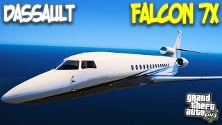 Stolen Jet Fighter Fly Dangerously Over The Big City | GTA 5