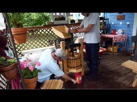 Apple cider making test 2