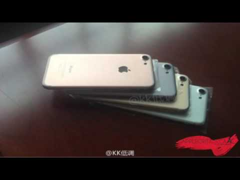 iPhone 7 Colors Officially Leaked! Redesign Camera, Storage, And More!