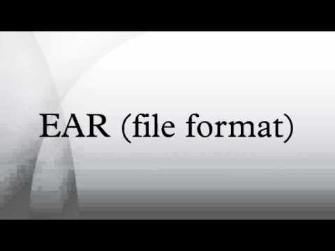EAR (file format)