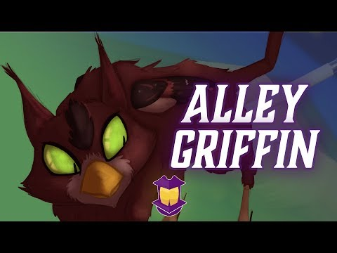 Drawing a Young, Scrappy, and Hungry Alley Griffin! // Forge a Character Design