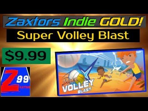 Zaxtor's Indie GOLD! - Super Volley Blast - This Full Featured Volleyball Action Game Oozes Quality!