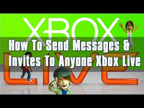 How to Invite ANYONE to Xbox Game, Party, & Send Messages [2015]