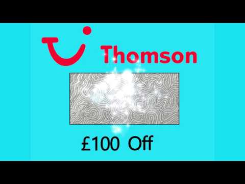 Thomson Holidays Discount - Code 2017
