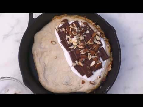 How to Make a Cast-Iron S'mores Calzone | How To: Kitchen | Real Simple