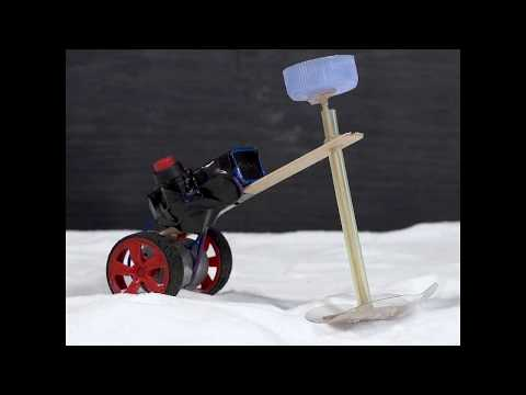 How to Make an Electric Motorcycle - Snow Car
