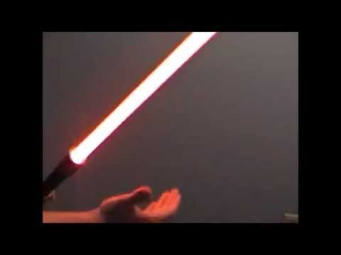PVC Lightsaber with Cheap Hasbro Sound Board