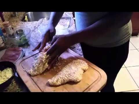 How to make stuffed chicken breast