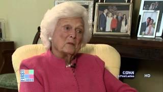 Barbara Bush on Jeb Bush Potential Run for President (C-SPAN)