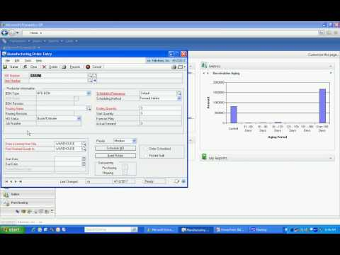 How to Make a Martini with Dynamics GP