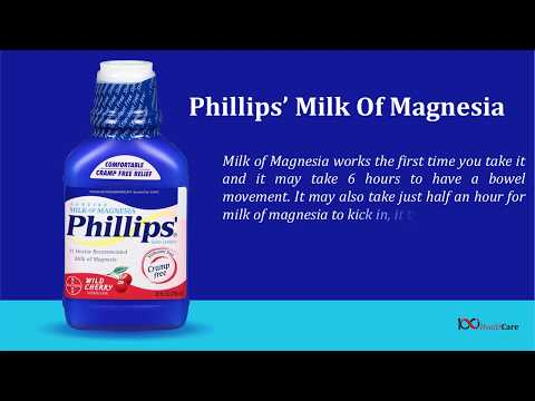 Fast Acting Laxatives | Phillips' Milk Of Magnesia Reviews