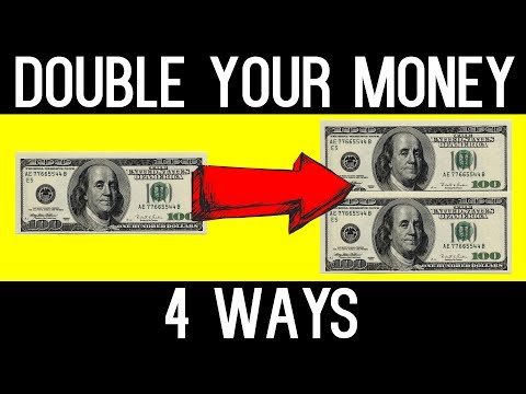 HOW TO DOUBLE YOUR MONEY 💰