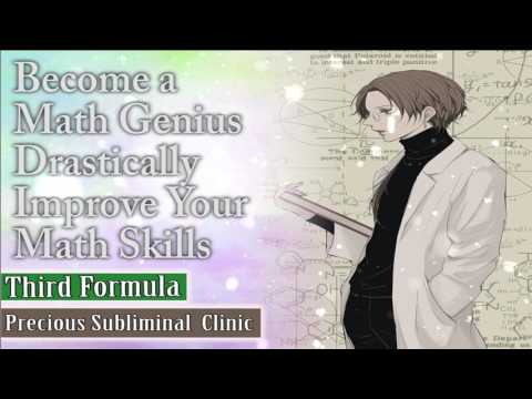 Become a Math Genius  - 3rd Formula [Affirmation+Frequency] - INSTANT RESULTS