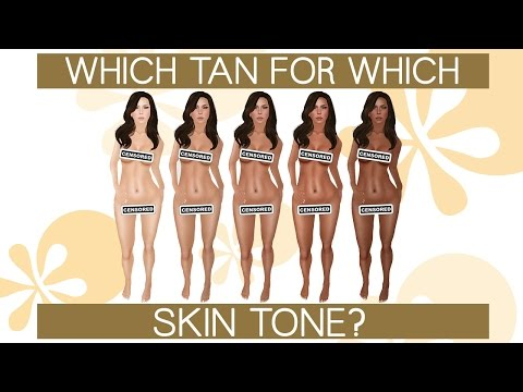WHICH FAKE TAN FOR WHICH SKIN TONE?