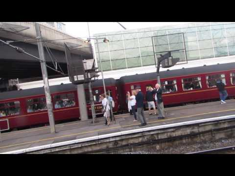 60103 Flying Scotsman on The Cathedrals Express departures London Paddington for Chiilten Hils