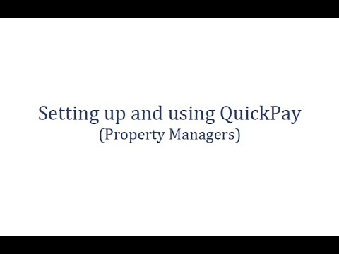 Using QuickPay for Online Rent Collection (Landlord)