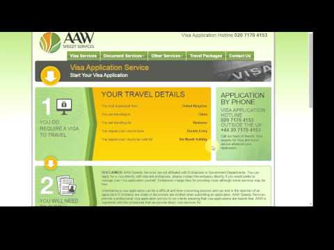 china business visa solutions and travel support - aaw speedy services.