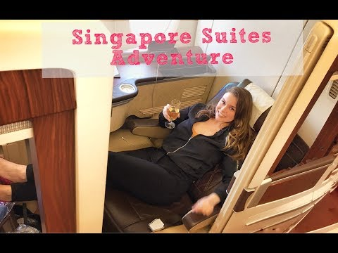 Singapore Suites Experience on Singapore Air