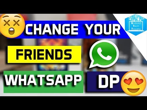 🔥🔥🔥🔥 || How to change friend's profile picture on whatsapp || Android Tech Tweaks ||🔥🔥🔥🔥