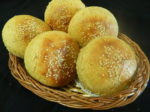 Whole Wheat Burger Buns / Aatta Bun /  - By Food Connection