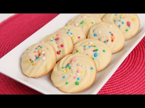Italian Butter Cookie Recipe - Laura Vitale - Laura in the Kitchen Episode 758