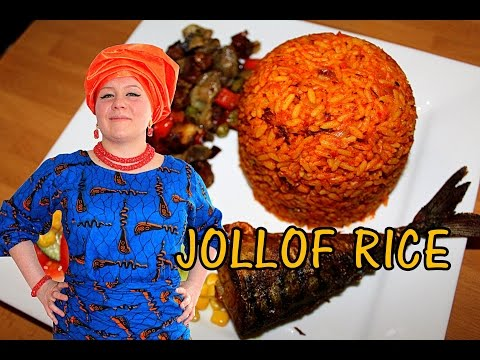 Oyinbo Cooking: Jollof Rice - African Risotto - Nigerian Food!