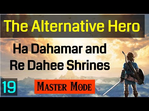 Master Mode Breath of the Wild The Ha Dahamar and Re Dahee Shrines 019