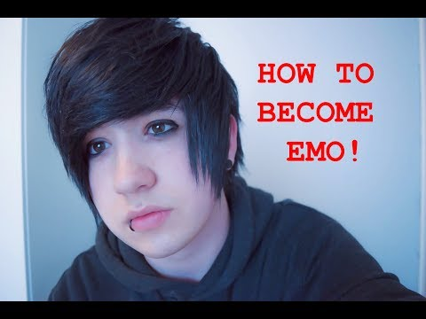 HOW TO BECOME EMO IN 2018!