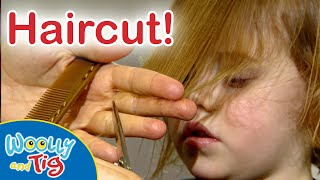 @Woolly and Tig Official Channel- My First Haircut!  💇♀️ | TV Show for Kids | Toy Spider