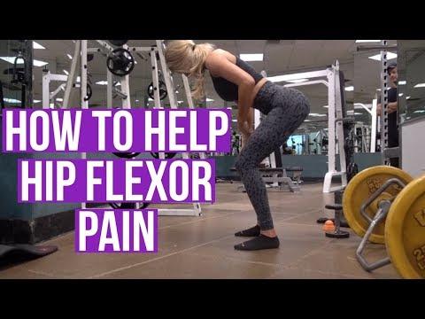 HOW TO HELP HIP FLEXOR PAIN | Anna Victoria