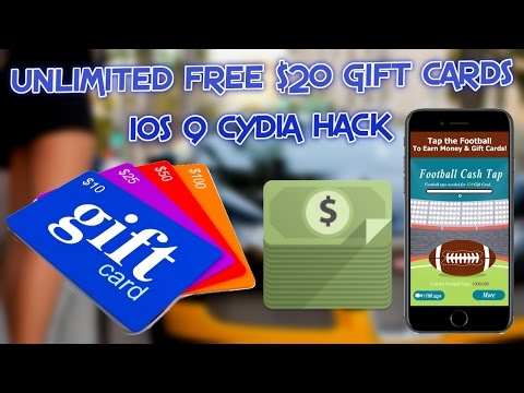 UNLIMITED FREE $20 GIFT CARDS HACK CYDIA iOS 9.3.3 (NEW)!!!