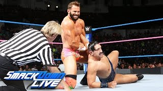 The Hype Bros vs. The Vaudevillains: SmackDown LIVE, Oct. 4, 2016