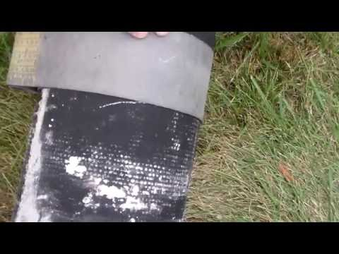 How-to:  Ductile Iron Pipe Scribed for Straight Cut