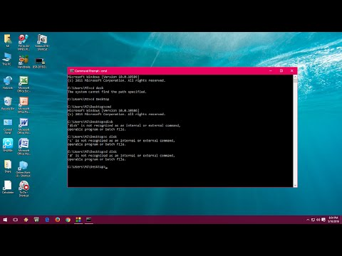Shortcut keys for CMD or Command Prompt for Windows PC (Windows 10, 8.1, 7
