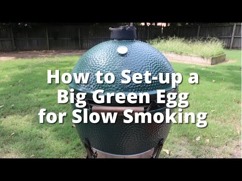 Smoke in a Big Green Egg | How to Set-up a Big Green Egg for Slow Smoking with Malcom Reed