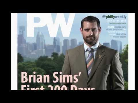 Brian Sims - Photographed by Kyle Cassidy for the Philadelphia Weekly