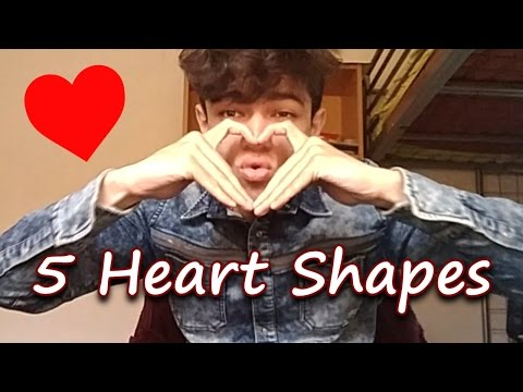 5 Heart Shapes To Show Your Lover
