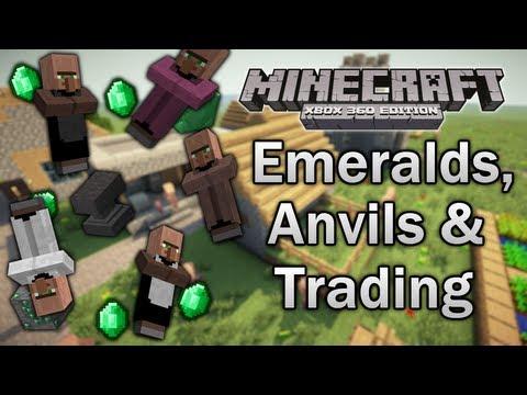 [Minecraft: Xbox 360] TU14 Feature Discussion - Emeralds, Anvils & Trading!