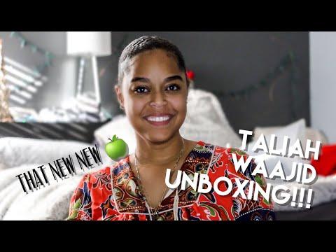NEW PRODUCTS UNBOXING (Taliah Waajid) + Mini Update | Danielle Renée