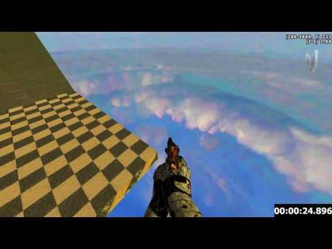 Cod4 Deathrun | Jump Hard Speedrun by VC' Glen:D (59.77)