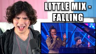 Vocal Coach Reacts to Little Mix - Falling (Harry Styles Cover)