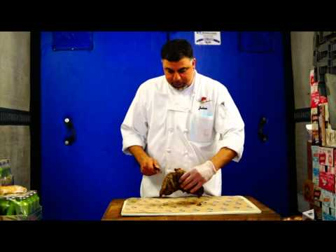 Identifying the Grain and Cutting a Cooked Tri Tip