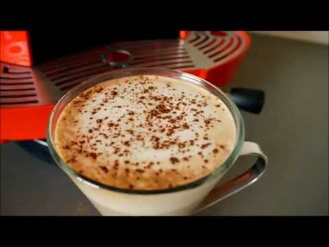 How to make a latte or cappuccino without the need of steamer