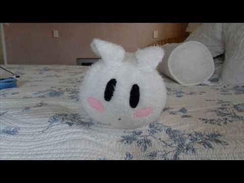 DIY Rabbit Pillow