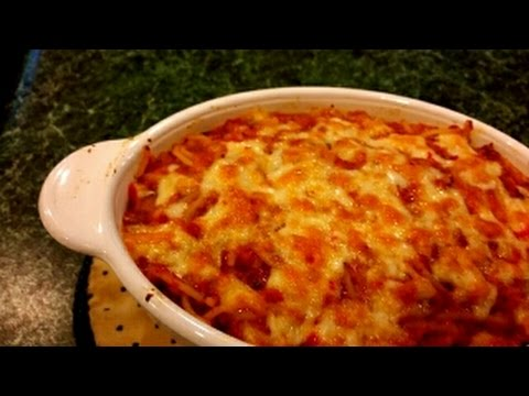 How To Make Baked Spaghetti
