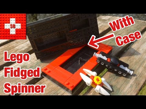 Lego Fidged Spinner with Case