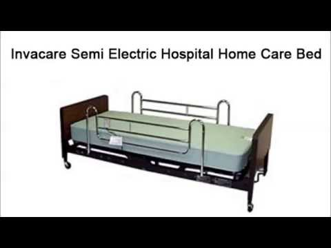 FreeMobilityCoupons.com - Invacare Semi Electric Hospital Home Care Bed