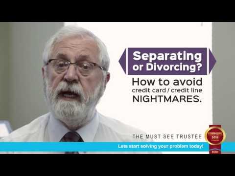 Paul J. Pickering Separation/ Divorce and finances.